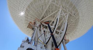Major surgery complete for Deep Space Network antenna