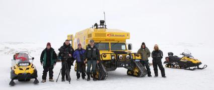 Mars Institute 'Moon-1' Humvee Rover reaches Devon Island, High Arctic