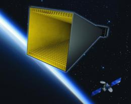 Metamaterials approach makes better satellite antennas
