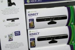 Microsoft's new Kinect controller for the Xbox 360