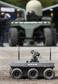 Military robots seen as lifesavers (AP)