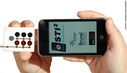 Mobile phone app to diagnose sexually transmitted infections