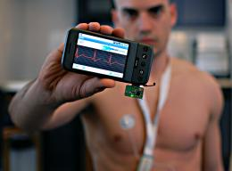 Monitoring your health with your mobile phone