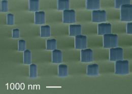 Nano 'pin art': NIST arrays are step toward mass production of nanowires
