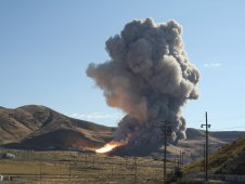 NASA and ATK successfully test five-segment solid rocket motor