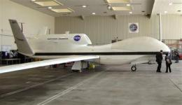 NASA begins science flights with robotic jet (AP)