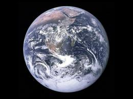 NASA image of the Earth