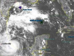 NASA's CloudSat satellite and GRIP Aircraft profile Hurricane Karl