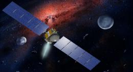 NASA's Dawn Spacecraft Fires Past Record for Speed Change