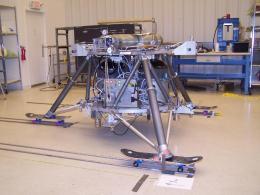 NASA's new lander prototype 'skates' through testing