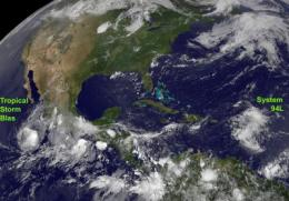 NASA watching System 94L over Lesser Antilles for development