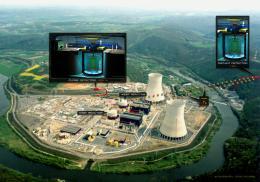 Neutrino detector starts measurement