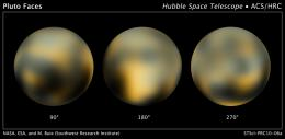 New Hubble Maps of Pluto Show Surface Changes