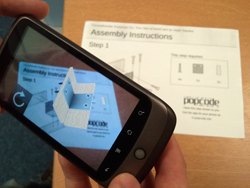 New mobile phone app 'Popcode' adds virtual reality to real world objects
