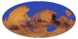 New study indicates an ancient ocean may have covered one-third of Mars