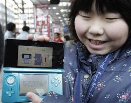 Nintendo 3-D handheld goes on sale in Japan (AP)