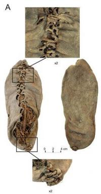 Oldest leather shoe steps out after 5,500 years (AP)