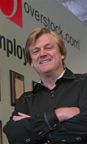 Overstock's brash CEO delivers 1st annual profit (AP)