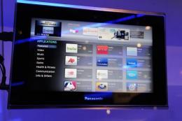 Panasonic's Viera tablet