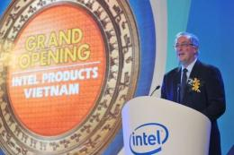 Paul Otellini, chief executive of Intel