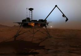 Phoenix Mars Lander finds surprises about red planet's watery past