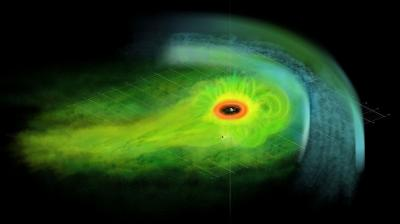 Saturn's magnetic field inflated by hot plasma explosions