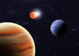 Planets orbiting a binary system help astrobiologists search for habitable worlds