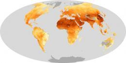 Aerosol particles at global view