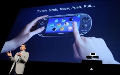 President of Sony Computer Entertainment, Kazuo Hirai, introduces NGP