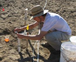 Recharge pond study reveals dynamics of water infiltration