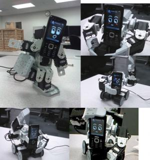 Robotic cell phones express emotions (w/ Video)