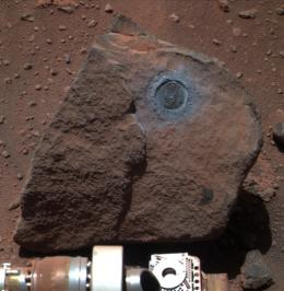 Rover Gives NASA an 'Opportunity' to View Interior of Mars