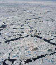 Satellite takes a space-eye view of Arctic ice