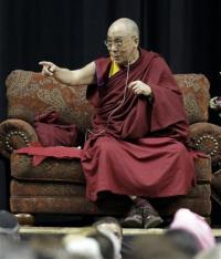 Scientist inspired by Dalai Lama studies happiness (AP)