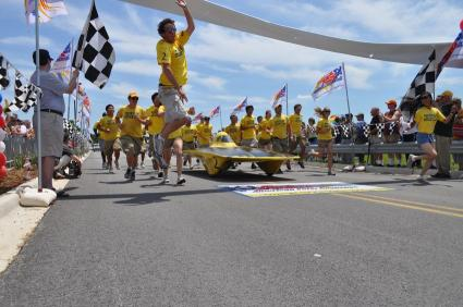 Six-time champions win American Solar Challenge