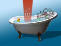 Some like it hot: How to heat a 'nano bathtub' the JILA way