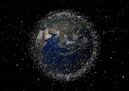 "Russia wants to build ""Sweeper"" to clean up space debris"