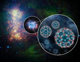 Space buckyballs thrive, finds NASA spitzer telescope