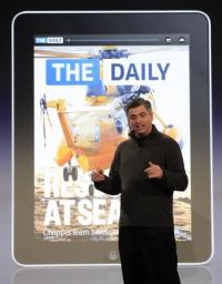 Stop the presses: First iPad newspaper debuts