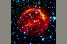 Supernova shrapnel found in meteorite