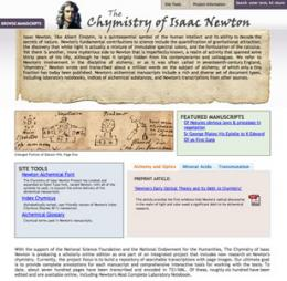 Team reveals secret life of Isaac Newton on new website