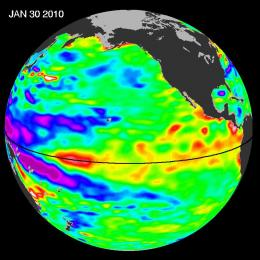 Temperature Trackers Watch Our Watery World