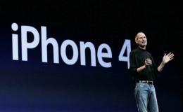 teve Jobs announces the new iPhone 4