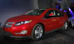 The Chevrolet Volt electric vehicle