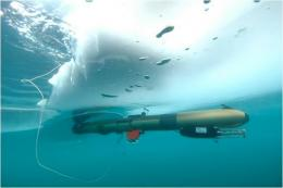 UBC underwater robot to explore ice