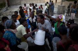 UN appeals for $164M to combat Haiti cholera (AP)