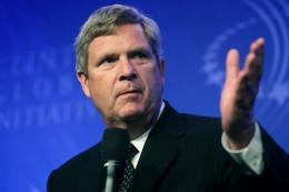 US Agriculture Secretary Tom Vilsack