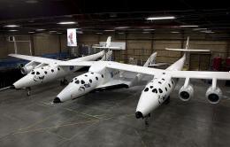 Virgin spaceship to pass new milestone