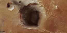 Volcanic ash in Meridiani Planum