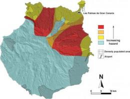 Volcanic hazard map produced for island of Gran Canaria